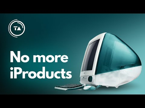 """Why Apple is dropping the """"i"""" from product names"""