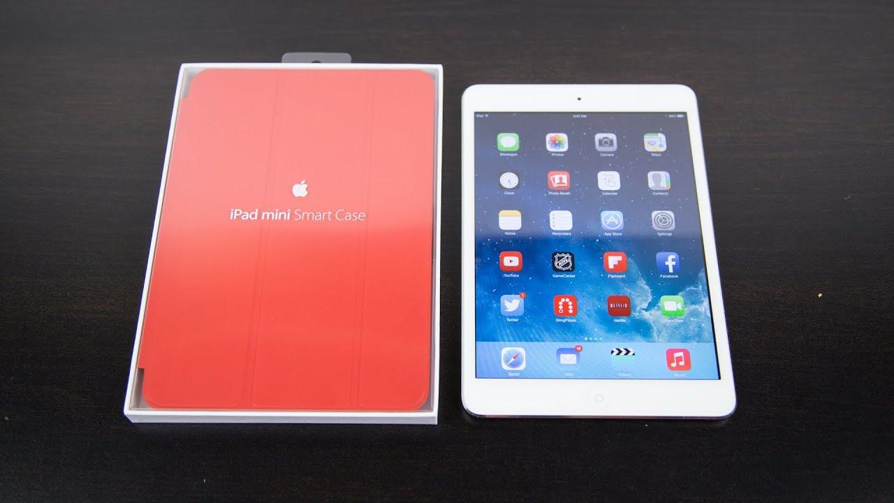 Apple iPad Mini Smart Case Review - YouTube