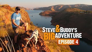 LAKE ARGYLE OR BUST (EP4) | Steve & Buddy's Big Adventure