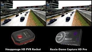 Hauppauge HD PVR Rocket vs Roxio Game Capture HD Pro (GamerCap)