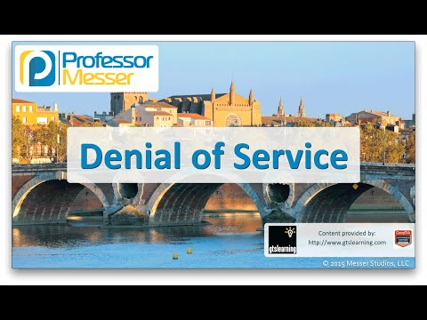 Descargar Video Denial of Service - CompTIA Network+ N10-006 - 3.2