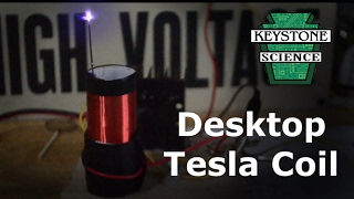 In today's video we build a mini tesla coil great as a conversation...