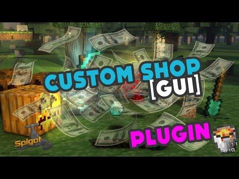 Custom Shop GUI | SpigotMC - High Performance Minecraft