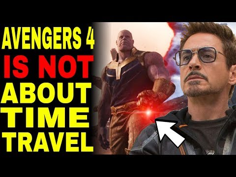 Avengers Endgame Is NOT A Time Travel Movie