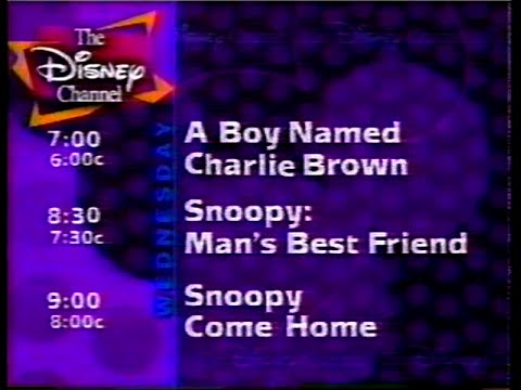 October 2, 1996 Disney Channel Commercials + Promos