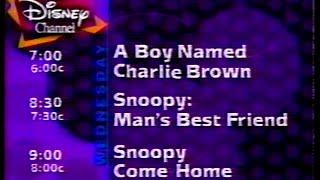 October 2, 1996 Disney Channel Commercials + Promos