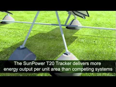 Sunpower T20 Tracker