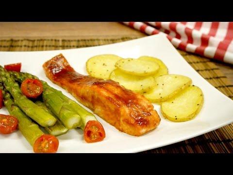 saumon-bbq-avec-légumes
