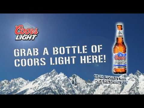 brains beer coors light ad bar visual youtube