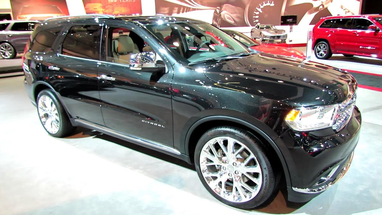 Dodge Durango Citadel >> 2014 Dodge Durango Citadel - Exterior and Interior Walkaround - 2013 LA Auto Show - YouTube