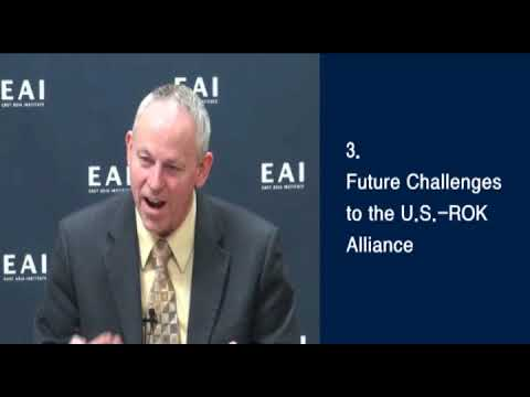[Smart Q&A: Terence Roehrig] The Future of U.S.-ROK Alliance: Implications for the Korean Peninsula