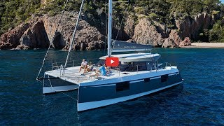 Walkthrough of the 2019 Nautitech 40 Open Catamaran