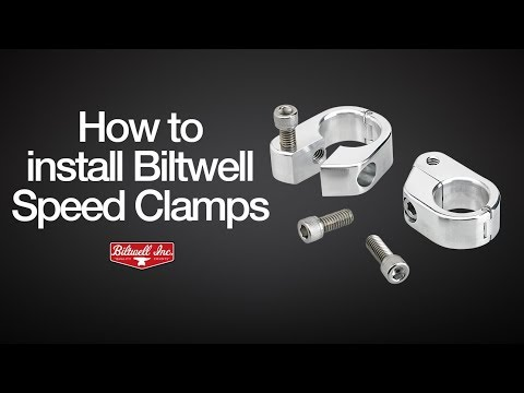 How-To Install Biltwell Speed Clamps