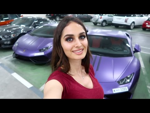 PURPLE LAMBORGHINI TWINS!