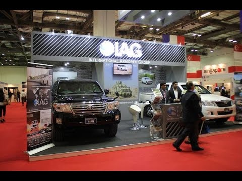 IAG armoured cars for Asian market Toyota HILUX pickup Land Cruiser 200 APHS 2015 Asia Pacific