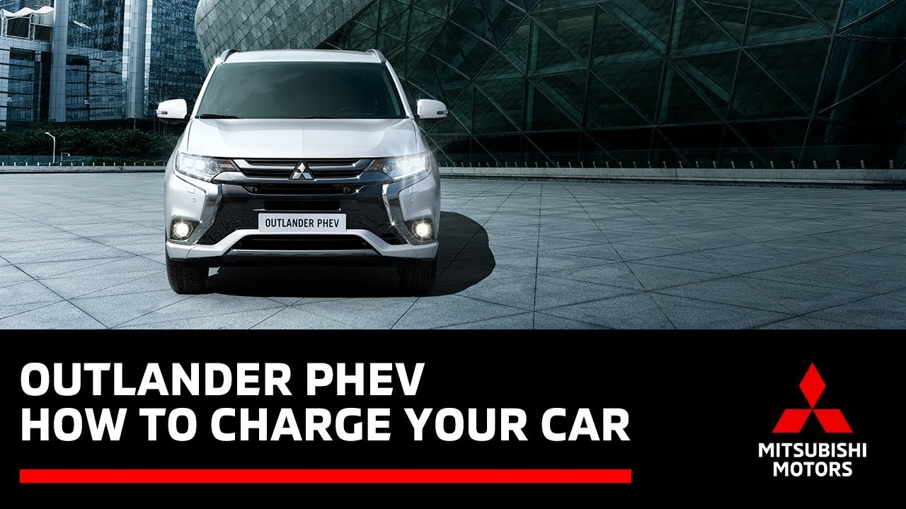 How to Charge your Outlander PHEV (Plug-in Hybrid Electric Vehicle)