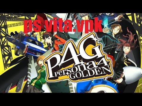 Persona 4 Golden ps vita  vpk