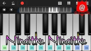 Ninaithu Ninaithu from 7G | Keyboard Notes / Tutorial (Mobile)