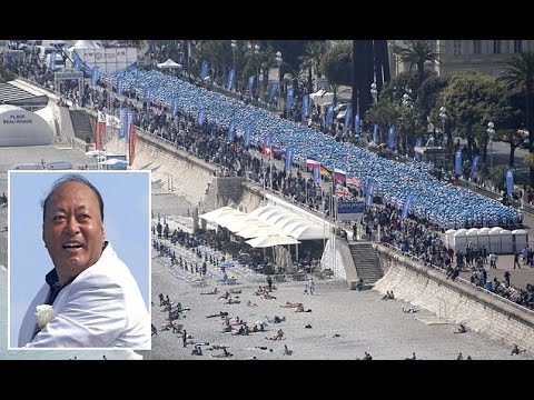 2 Tumb, Li Jinyuan, Chinese billionaire takes 6,400 staff on holiday to Paris and Cote d'Azur