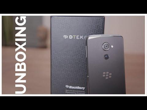 BLACKBERRY DTEK60 UNBOXING