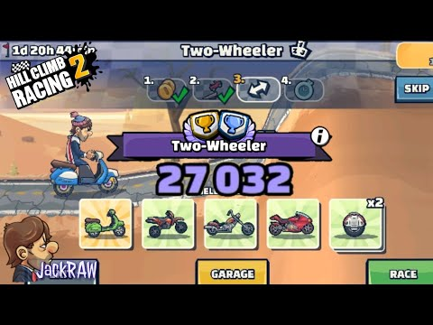 "Hill Climb Racing 2 - Team Event ""Two-Wheeler"" 27032 Points"