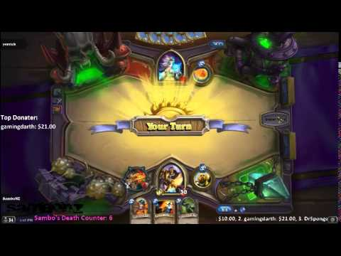 LiveStream - Hearthstone | Playing challengers from the chatroom Part 2 of 2