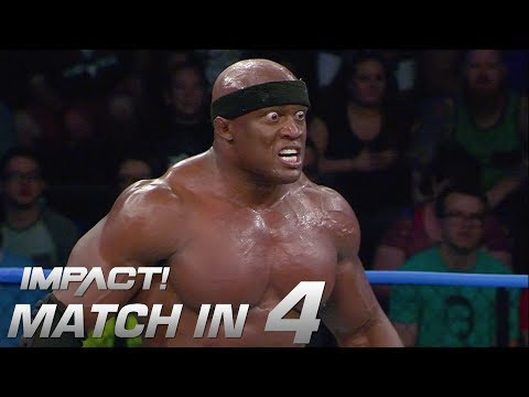 Lashley vs Sami Callihan: Match in 4 | IMPACT! Highlights Feb. 15, 2018