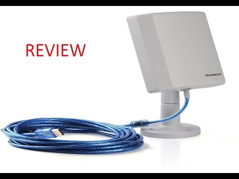 TurnRaise 150Mbps 802 11n Long Range Booster Wifi Antenna Unboxing