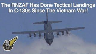 Lockheed C-130 Hercules Tactical Takeoff & Landing