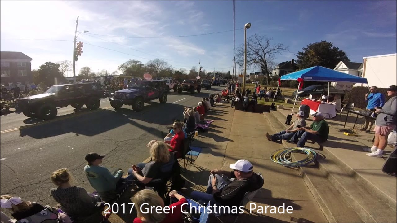Greer Christmas Parade 2020 2017 Greer Christmas Parade   YouTube