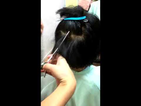 東大宮の美容院、ツヤ髪美容室プレジールのデジックカット
