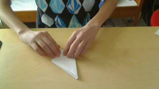 [hd] How To Fold An Origami Dragon Part 1