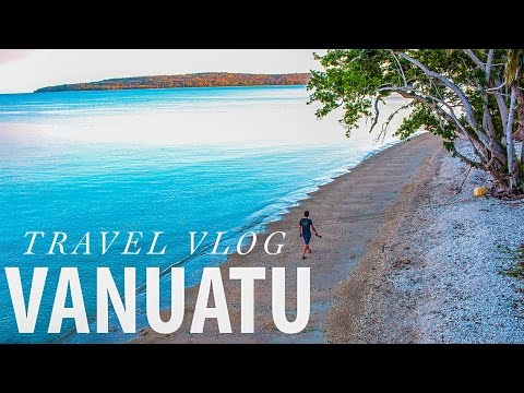 VANUATU TRAVEL VLOG - EXPLORING ISLANDS