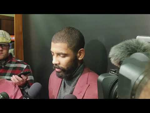 Kyrie Irving pulls an Aaron Rodgers, tells #Celtics faithful to relax after another loss