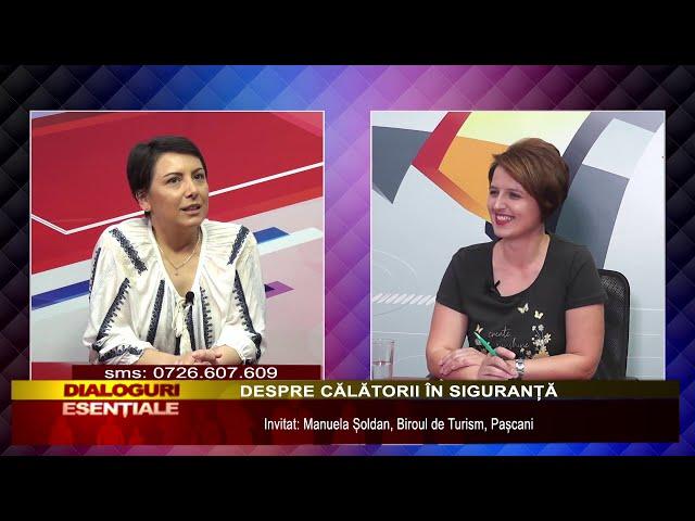 DIALOGURI ESENȚIALE:  - DESPRE CĂLĂTORII ÎN SIGURANȚĂ