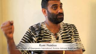 Kumi Naidoo describes how he first began to work for social change...
