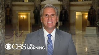 "Kevin McCarthy says GOP has ""room for improvement"" in elevating women to office"