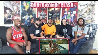 Diljit Dosanjh: CLASH (Official) Music Video | G.O.A.T. Reaction