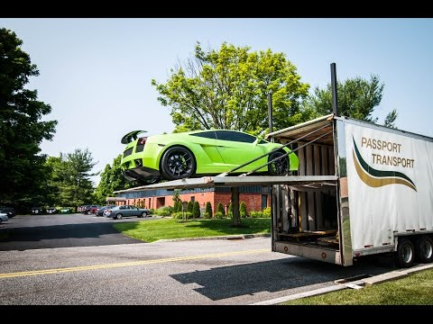 Taking Delivery of my Lamborghini Gallardo