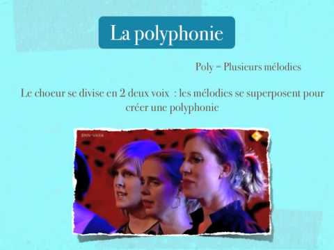 Monodie / Polyphonie