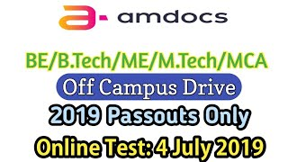 Amdocs Online Test From Home