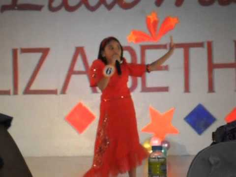 Althea sings Paglaum by Vina Morales and wins Little Ms. Elizabeth Mall 2012 BOOM!