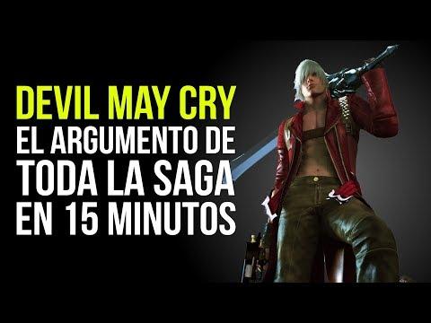 DEVIL MAY CRY, el ARGUMENTO de TODA LA SAGA en 15 MINUTOS thumbnail