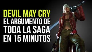 DEVIL MAY CRY, el ARGUMENTO de TODA LA SAGA en 15 MINUTOS