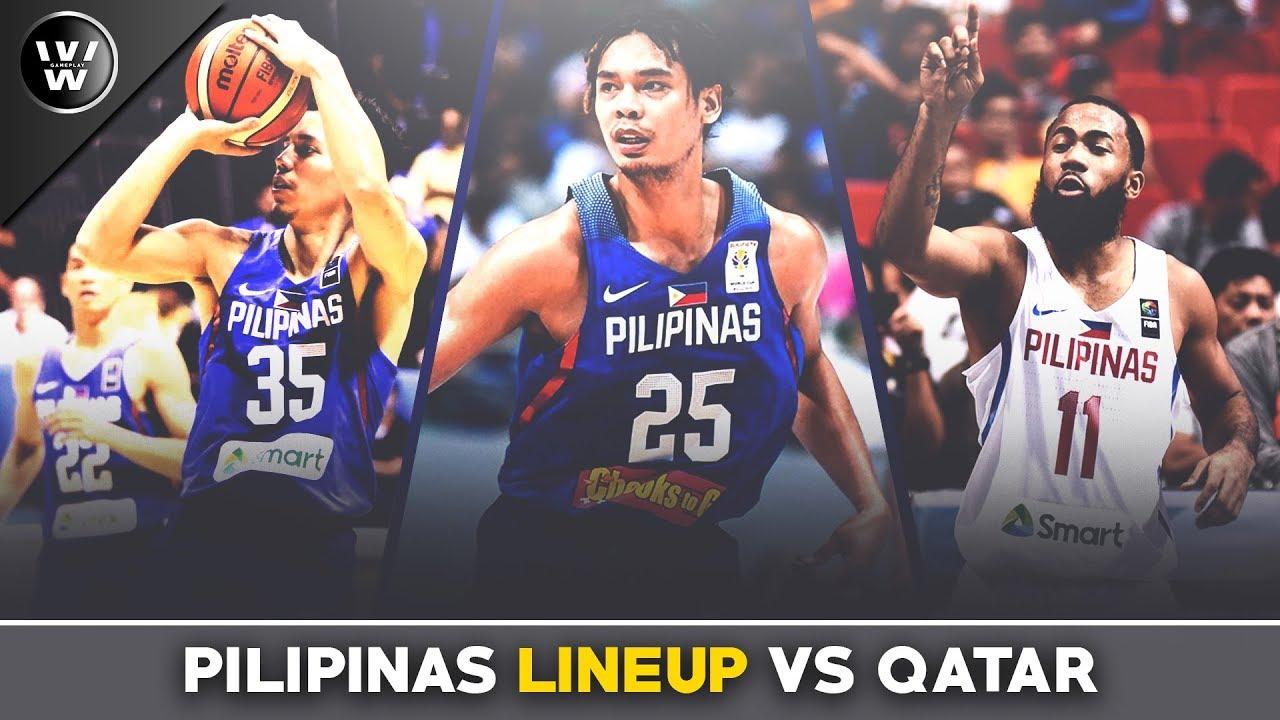 Kaya ba ng Team Pilipinas ang Qatar? | Final Lineup | FIBA Qualifiers
