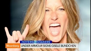 Supermodel Gisele Bundchen Signs With Under Armour
