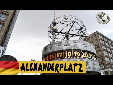 Alexander Platz y Reloj Mundial - World Clock. Berlin 2013