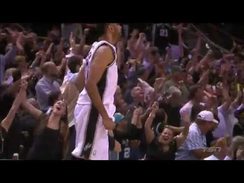 Spurs' 3rd Quarter Three Consecutive 3s | Heat vs Spurs | Game 5 | June 15, 2014 | NBA Finals 2014