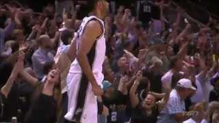 Spurs' 3rd Quarter Three Consecutive 3s | Heat vs Spurs | Game 5 | June 15, 2014 | NBA Finals 2014