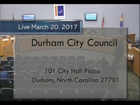 Durham City Council Mar 20, 2017
